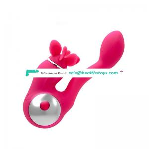 Waterproof silicone vibrator adult female sex toys