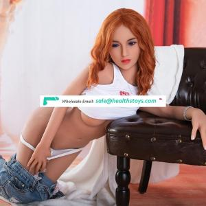 Wholesale 145 cm  real girl sex doll lifelike girl doll for sex real women sex doll