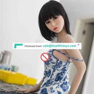 Wholesale 155cm made in china sex dolls lifelike adult dolls sex for men flat chest silicone sex doll