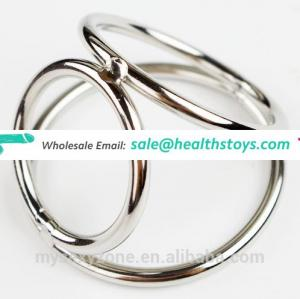 Wholesale Delay Love Ring Cock Ball Ring Hardware Magnetic Cock Ring for Male