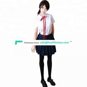 Young 165 cm elastic TPE real sex doll toys for man