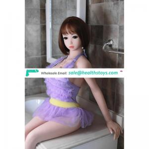 Your companion and friends perfect young  girl silicone sex doll with 3 openings