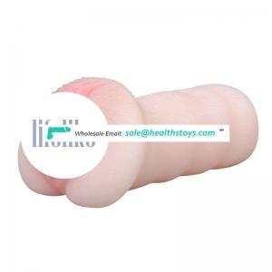 high pleasure silicone intelligent interactive moaning  mature electric masturbator for man sex male With lifelike Vagina