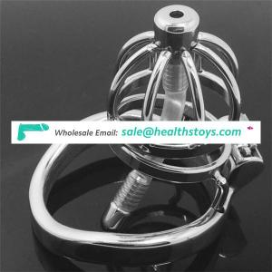 hot sale metal stainless steel male chastity cage cock cage