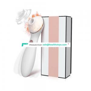 kiss toy Polly White upgraded version of dual-motor clitoral massage vibrator