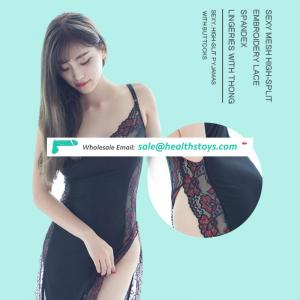 new design vent lace sling longuette thong sexy suit