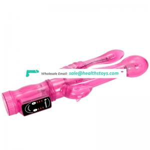 remote control pussy double headed 6 speed g-spot vibrator for women sex