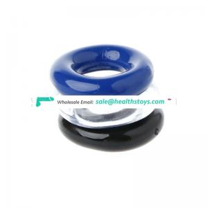 stretchy silicone o rings trainer cock ring male sex toys