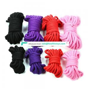 10 M Cotton Rope Body Bed Restraint Bondage Cotton Rope for Sexy Toys