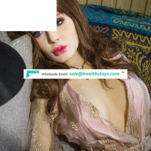 2019 New 168cm  young Fat Silicone TPE Sex Doll with busty Body Love Doll Real Life Silicone Full Body Sex Dolls for man
