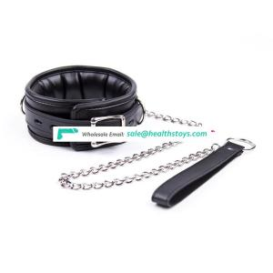 Adult erotic product neck couple BDSM tool restrain sex toys for male bondage collar