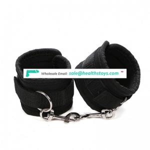 BDSM Wrist and Ankle Handcuffs SM Sex Furry handcuffs sex toys pu leather