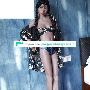 Black Young Girl 168cm Flat Chest Full Perfect Small Breast Sex Doll