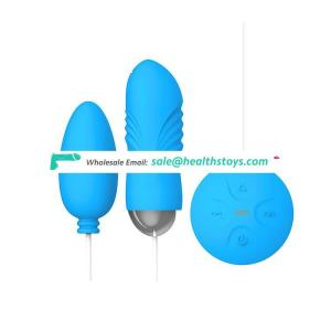 Blue Porn Sex Products Picture Electric Remote Control Silicone Textured Double Erotic Magnetic Magic Love Bullet Vibrating Egg