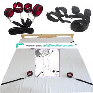 Body Harness Bed Bondage Restraints Polyester Bondage for Female Use