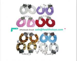 Cheap Price SM Sexy Handcuff Toys Rings with Stainless Steel Sexy Handcuffs