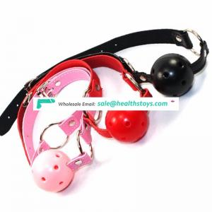 Chinese supplier Soft Bondage Mouth Ball Gags Silence Sex Gags