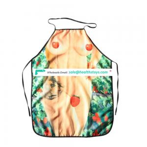 Cooking Kitchen Polyester Apron Naked Sex Apron for SM Games Use