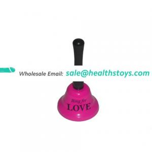 Custom Design Sex Bell Sex Toy Ring Logo Print Sex Bell for Couple BDSM Games