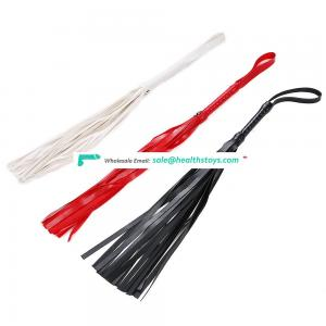Customized Dimension Acceptable Leather Sex Whips for SM Games