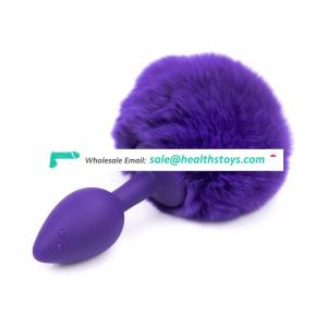 EU and American Market Plug Anal Sex Toys Silicone for Female