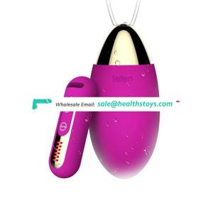 Electric Remote Control Battery Waterproof 16 Speed Safe Silicone Vagina Tighten Adult Sex Bullet Magic Love Ball Vibrating Egg