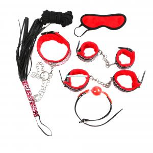 Fetish Main Products Different Series Sexy Games Body Bondage Whips Bed Restraint Toys