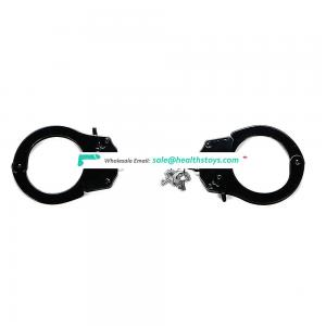Handcuffs Restraint BDSM Toys Stainless Steel Police Handcuffs for Men