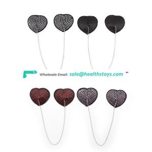 Heart Shape Silicone Nipple Cover for Couple Games Use