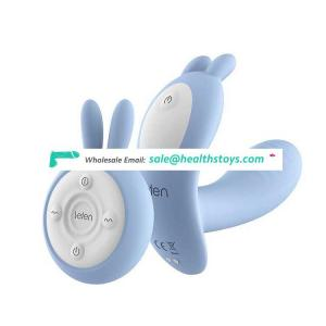Heated Smart Rechargeable Remote Controlled Safe Food Grade Silicone Wearable Adult Magic Sex Love Rabbit Vibrator Vibrating Egg