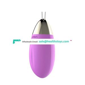 Hot Rechargeable Remote Waterproof Dynamic Motor 10 Programs Silicone Erotic Magic Love Ball Vibrating Egg