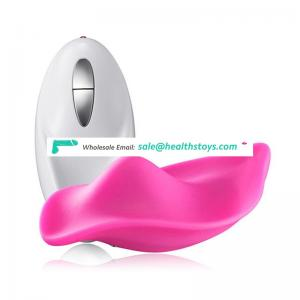 Hot Selling Waterproof Silicone Stimulating Clitoris Massage Wearable Vibrator  for Women Sex Toy