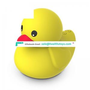 Hot USB Charge IPX7 Water Resistance Cordless Safe Soft Silicone Female Women Vagina Sex Duck Flirt Massager Love Vibrating Egg