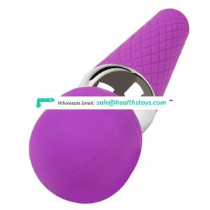 Hot waterproof silicone cute magic girl vagina massager vibrator with multi speed powerful
