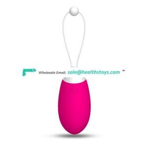 Intelligent Mobile Bluetooth 30M Remote Silicone Wearable Pink Silicone Mini Female Magic Love Bean Ball Vibrating Egg