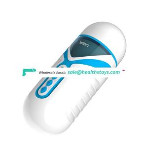 Leten  electronic capsule design adult sex toys  for men masturbating