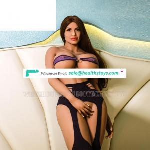 Life Size Celebrity Angelina Shemale Used Perfect Real Sex Doll