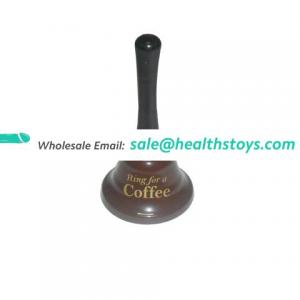 Naughty Present Hot Sale Hand Bell Ring for Coffee Tea Restaurant Bell Sex Metal Hanging Bell