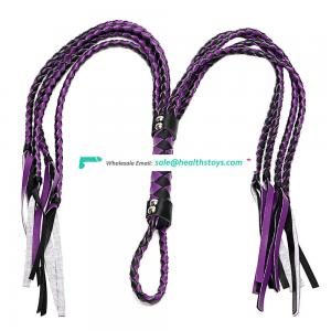 OEM Length Leather Sexy SM Toys Mix Color SM Whips Horse Whips