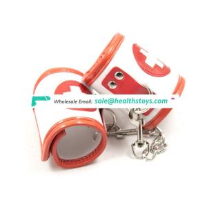 OEM Nurse Style Sexy Game Use Handcuffs sex adult handcuffs
