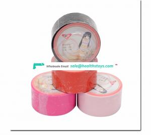 PVC Tape Elastic Insulation Tape SM Accessories for Sexy Games Mouth Ashensive