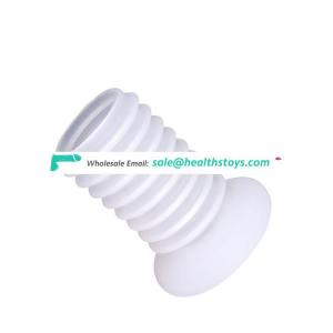 Penis Enlargement Ejaculation Exercise Grainy Flexible Silicone Male Cock Ring For Men Sex Toys Products