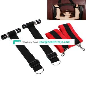 Pu Handcuffs wrist ankle Restraints Bondage sex women bondage