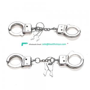Reliable Factory Cheap Handcuff Rings with Stainless Steel Sexy Handcuffs