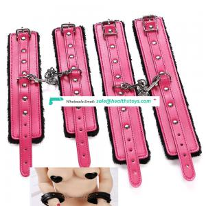 Sex Strap Leather/Polyester Bondage Body Harness Restraints Sex Games