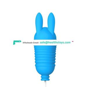 Silicone Electric Rechargeable Waterproof Powerful Vagina Clitoris Tease Mash Double Magic Bullet Sex Love Ball Vibrating Egg
