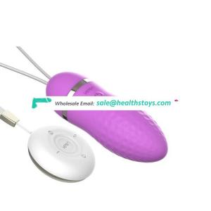 Skin Silicone Battery Remote Controller Vagina G-Spot Orgasm Passion Wave Device Female Wearable Bullet Sex Love Vibrating Egg