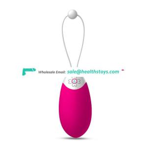 Smart Phone Bluetooth Remote Control Safe Medical Silicone Wearable Hot Sex Fun Magic Bullet Love Ball Vibrating Egg For Women