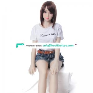 Supplier 2018 new style adult sexy 140cm Pure Female Silicone Sex Doll for male masturbation
