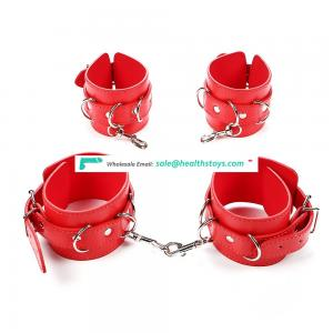 Wrist Cuffs Sex Leather Sexy Handcuffs bdsm handcuffs